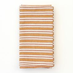 Designed in Los Angeles, Heather Taylor's simple linens are handwoven on floor and back-strap looms by artisans in Chiapas, Mexico. The straight-forward and casual designs express a wonderful sense of ease and sophistication.
