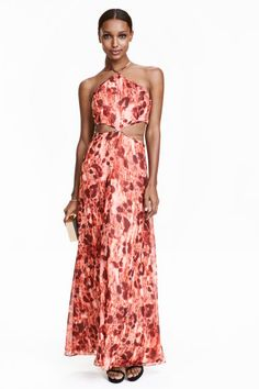 Chiffon maxi dress | H&M