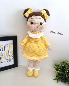 Baby Knitting Patterns, Origami, Hello Kitty, Crochet Hats, Dolls, Instagram, Crochet Hair, Amigurumi Doll, Baby Things