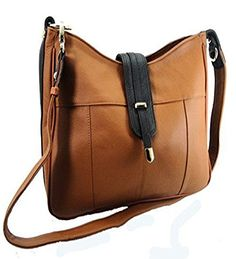 Concealed Carry Gun Purse ShoulderCrossbody LeftRight Hand CCW LIGHT BROWN ** To view further for this item, visit the image link.