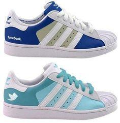 #Bambas Adidas, Facebook y Twitter.  #wearbambas #moda http://www.wearbambas.com
