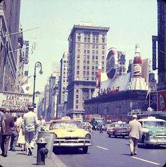 Street Scene, New York City, 1956