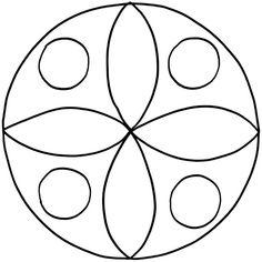 Mandalas for printing Toddler Drawing, Drawing For Kids, Mosaic Designs, Mosaic Patterns, Mandala Drawing, Mandala Art, Old Cd Crafts, Pookalam Design, Mandela Patterns
