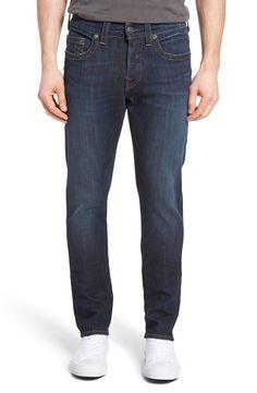 New True Religion Brand Jeans Rocco Skinny Fit Jeans (Indigo Horizon) ,SPICED CORAL fashion online. [$249]newtopfashion top<<
