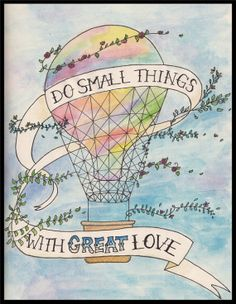 Hot Air Balloon Print by HaikusAndThings on Etsy, $14.97