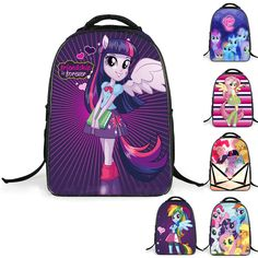 My Little Pony: Friendship Is Magic Cartoon Girls Backpacks School Bag, Great for those My Little Pony's fans! Made with high-quality…