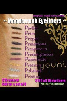 New eyeliners whoohoo