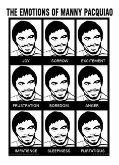 The Emotions of Manny Pacquiao <3