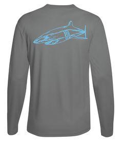 Killer Whale Running Top Mens Long Sleeve T Shirt Light Weight UPF 50