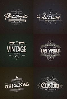I'm happy to share with you this premium quality collection of 10 retro vintage badges created by freepik exclusively. Dog Logo Design, Branding Design, Logo Inspiration, Icon Design, Design Design, Photoshop Web Design, School Shirt Designs, Retro Vintage, Tattoos