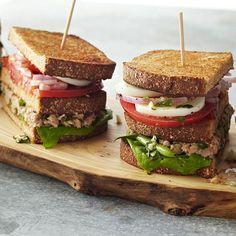Nicoise Salad Sandwiches