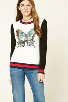 PEDIDOS SOLO POR #ENCARGO  #CatálogoNoviembre2016  Código: F-36 Sequined Butterfly Sweater Color: Cream/black  Talla: S-M-L  Precio: ₡26.900  Whatsapp  ☎8963-3317, escribir al inbox o maya.boutique@hotmail.com  Envíos a todo el país. #MayaBoutiqueCR  💖