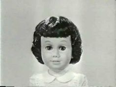 1960's toys | Vintage Chatty Cathy toy doll TV Commercial 1960's