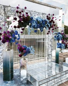 Beauty and Fresh DIY Floral Wedding Arch Decoration Ideas – Wedding Ceremony Ideas, Wedding Stage, Ceremony Backdrop, Backdrop Wedding, Purple Wedding, Trendy Wedding, Floral Wedding, Wedding Flowers, Wedding Centerpieces
