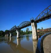 Fabio in Thailandia.: Il ponte sul fiume Kwai.