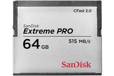 Sandisk Extreme Pro CFast 2.0 (515/240MB) 64GB Memory Card Get yours here http://www.ezonephone.com/