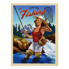 Fly Fishing Print