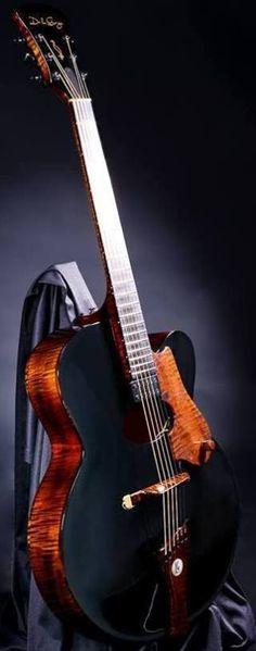 De la Garza Guitars fine Mexican Archtops --- https://www.pinterest.com/lardyfatboy/