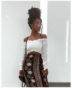 Fashion 90s, Black Girl Fashion, Look Fashion, African Fashion, Fashion Outfits, Korean Fashion, Afro Punk Fashion, Fashion Clothes, Boho Summer Outfits