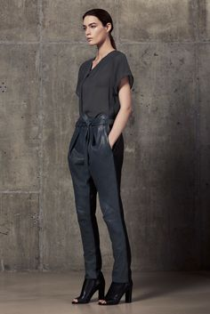 Helmut Lang Resort 2013 Collection Slideshow on Style.com