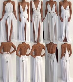Sexy 5 Styles White Prom Dresses Party Gowns for women Evening Party Gowns from . - Sexy 5 Styles White Prom Dresses Party Gowns for women Evening Party Gowns from loverlovebridal Source by didijodh - Sexy Party Dress, Prom Party Dresses, Sexy Dresses, Fashion Dresses, Formal Dresses, White Long Prom Dresses, Greek Wedding Dresses, White Flowy Dress, Backless Dresses