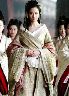 Etain fashions [Liu Yi Fei in 'White Vengeance' (2011).]