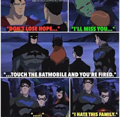 Why Batman is different