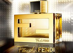 Fan Di Fendi - we love the double F logos linked together as the bottle's framework.