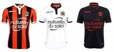 Camisas do OGC Nice 2016-2017 Macron
