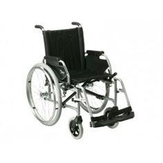 Silla Manual JAZZ. La silla JAZZ de VERMEIREN es la más robusta de las sillas ultraligeras. Construida con tubo de aluminio y cromo, la silla Jazz pesa solamente 15kg., entre 5 y 10kg.