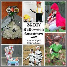 24 DIY Halloween Costumes for Kids!