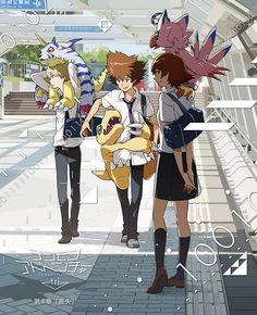 Digimon Adventure Tri - Sora, Taichi y Yamato