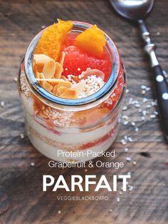 Citrus and Amaranth Parfait