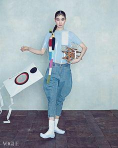 """""""Oriental Dream"""" Vogue Korea 2015"""