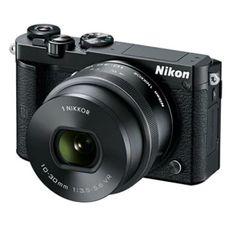 ขอแนะนำ  Nikon 1 J5 20.8 MP 5 Optical Zoom (Black) plus lens 10-30mm - intl  ราคาเพียง  31,282 บาท  เท่านั้น คุณสมบัติ มีดังนี้ 20.8MP CX-Format BSI CMOS Sensor EXPEED 5A Image Processor 3.0 1,037k-Dot Tilting Touchscreen LCD UHD 2160p/15 and Full HD 1080p/60 Video Built-In Wi-Fi Connectivity with NFC