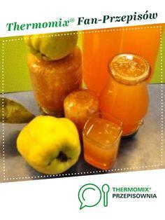 Sok z pigwy - koncentrat jest to przepis stworzony przez użytkownika MagdaP. Ten przepis na Thermomix<sup>®</sup> znajdziesz w kategorii Napoje na www.przepisownia.pl, społeczności Thermomix<sup>®</sup>. Preserves, Mango, Fruit, Thermomix, Sleeve, Preserve, The Fruit, Preserving Food, Pickling