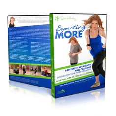 Expecting More™ DVD ~ great workout!  Just started this one today and liked it way more than any I'd tried so far...think I found the one to carry me through. :)  Convenient workout chart for each trimester included.