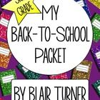 This back-to-school packet is the perfect way to kick off the year in your third grade classroom! These fun, ready-to-go activities will be a big h...
