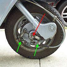 General Maintenance - Lambretta Front Wheel