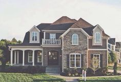 I love the wrap around porch and double doors at the front. I love the wrap around porch and double doors at the front. was last modified: January Dreamhouse Barbie, Future House, My House, Design Exterior, Stone Exterior, Exterior Colors, Exterior Paint, Suburban House, Barbie Dream House