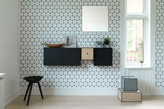 Via that nordic feeling | new from by Lassen | mirror + wallpaper + storage + prints