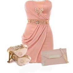 Pretty in pink fashion Dress Up Outfits, Sexy Dresses, Evening Dresses, Fashion Dresses, Prom Dresses, Formal Dresses, Swag Outfits, Formal Wear, Resale Clothing