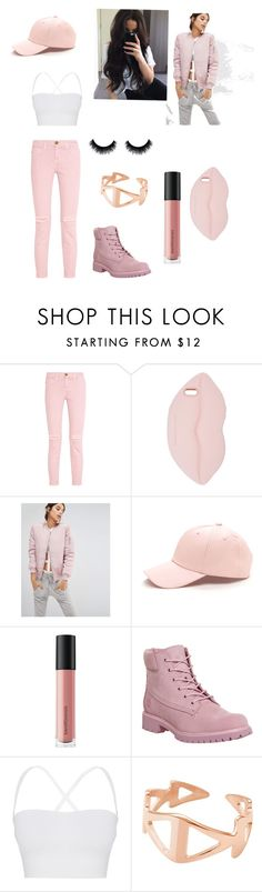 """Unbenannt #3"" by explorer-14693359309 ❤ liked on Polyvore featuring beauty, Current/Elliott, STELLA McCARTNEY, Missguided, Bare Escentuals, Timberland, Theory and Ekria"