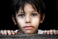 Burmese Portrait by David_Lazar, via Flickr
