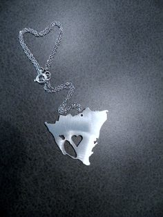 I Heart Nicaragua Necklace on Etsy, $20.00