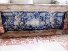 Azulejos antigos no Rio de Janeiro: Centro LII - Convento de Santo Antônio