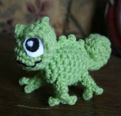 Pascal Crochet Pattern, this is Nathan's favorite movie!!!! I have to learn to make this!!! So cute.