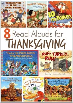 8 Read Alouds for Thanksgiving ~ plus a FREE Thanksgiving Pre-K/K Pack! | This Reading Mama: