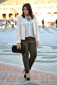 Zara Jacket, Zara Jeans, Asos Heels, Primark Shirt