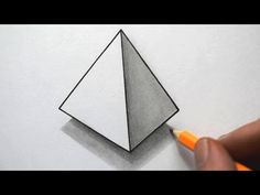 Anamorphic Illusion, Drawing 3D Staircase, Time Lapse - YouTube
